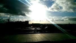 Sun Shines Over the City of Silver In a bright Glimmer. Let us conquer in this Hope.